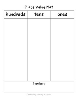 Place Value Activity Math