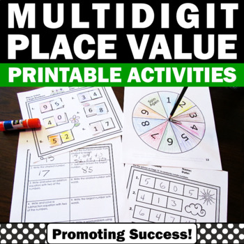 Place Value Games Standard Form Expanded Form Place Value Worksheets