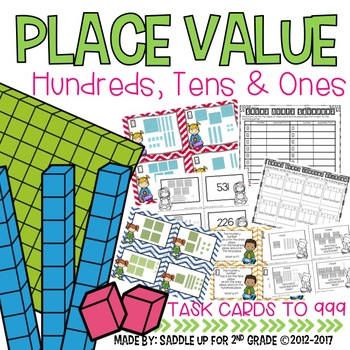 Place Value Activity Pack: Hundreds, Tens and Ones!!!