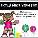 Place Value Activity with Donuts