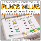 Place Value Adapted Work Binder
