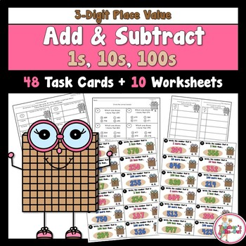 Add and Subtract 1s 10s 100s using 3-Digit Numbers