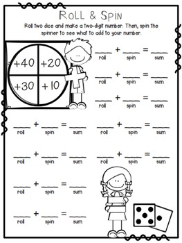 Place Value Addition Practice Pack