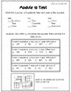 Place Value & Addition Study Guide and Test