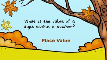 Place Value, Addition, and Subtraction Review PowerPoint