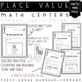 Place Value   Math Centers   Math Activities