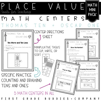 Place Value | Math Centers | Math Activities