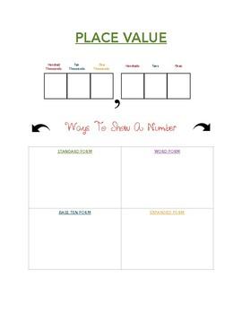 Place Value Aid