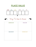 Place Value Aid