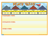 "Place Value Anchor Chart- 8½"" x 11"""