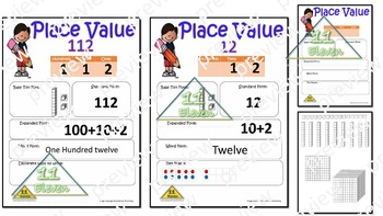 Place Value Anchor Chart (English)