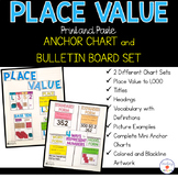 Place Value Anchor Chart and Bulletin Board Set- Print and Paste!