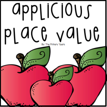 Place Value Apple Craft
