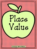 Place Value Apple Math Station