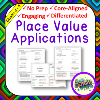 Place Value Applications