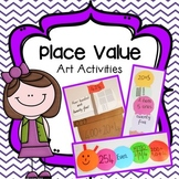 Place Value Art Activities Packet (Pirate Ships, Ice Creams & Caterpillars)