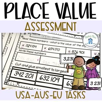 Place Value - Assessment