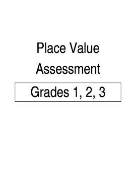 Place Value Assessment