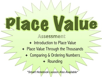 Place Value Assessment
