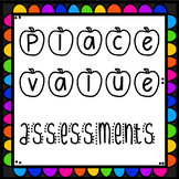 Place Value Assessment- 1st Grade {CCSS aligned}