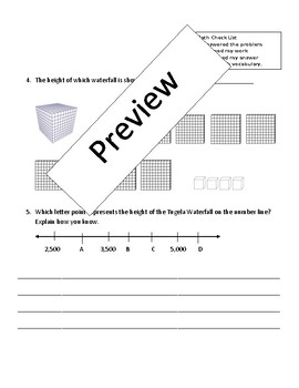 Place Value Assessment-3rd grade
