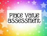 Place Value Assessment (3rd grade TEKS- aligned)