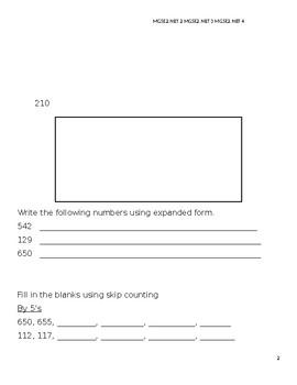 Place Value Assessment 4th Quarter