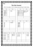 Place Value Assessment - Ones, Tens & Hundreds