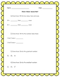Place Value Assessment or Review