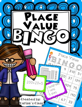 Place Value BINGO (w/ Base 10, Place Value & Expanded Form Calling Cards)