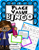 Place Value BINGO (w/ Base 10, Place Value & Expanded Form