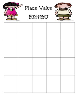 Place Value BINGO-Tens and Ones