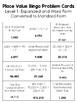 Place Value BINGO (no decimals) Math Game for Intermediate Students -3 versions!