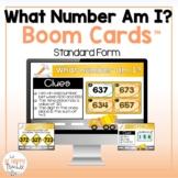 Place Value BOOM Cards | What Number Am I? | Digital Task Cards (Deck #1)