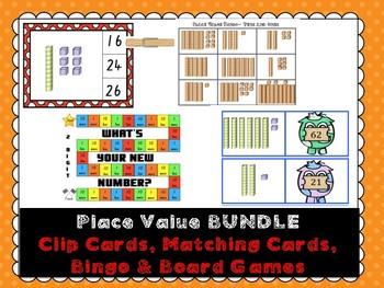 Place Value Activities BUNDLE