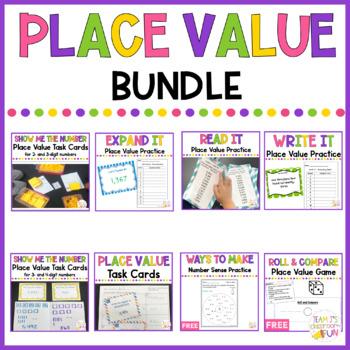 Place Value -  BUNDLE