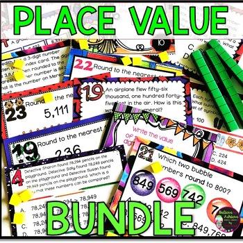 Place Value BUNDLE- (Growing BUNDLE)