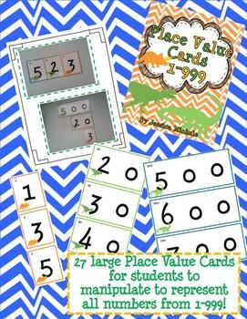 Place Value BUNDLE {Dinosaur Theme}
