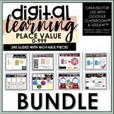 Place Value BUNDLE | Google Slides™/SeeSaw™ | Distance Learning