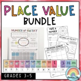 Place Value BUNDLE {posters, worksheets and games}