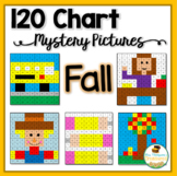 Place Value - Back to School - 120 Chart Mystery Pictures