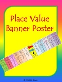 Place Value Poster Banner