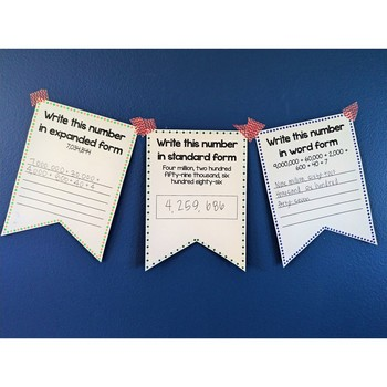 Place Value Banners