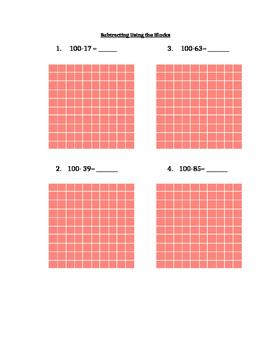 Place Value, Base 10 Blocks Work-2
