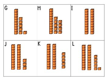 Place Value Base 10 Blocks Write the Room/Scoot