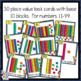 Place Value - Base Ten Blocks - 2 digit - task cards for Scoot & Matching