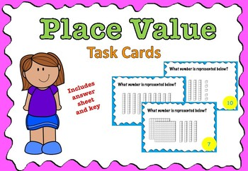 Place Value (Base Ten) Task Cards