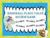 Place Value Baseball Review Game