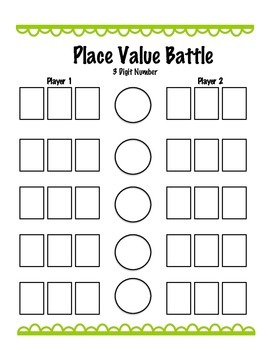 Place Value Battle