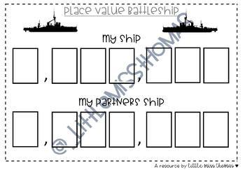 Place Value Battleship!